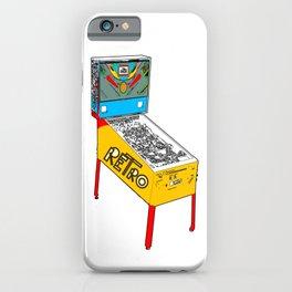 Retro Pinball iPhone Case