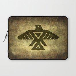 Symbol of the Anishinaabe, Ojibwe (Chippewa) on  parchment Laptop Sleeve