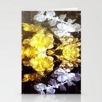 renaissance Stationery Cards featuring GOLD RENAISSANCE by Chrisb Marquez