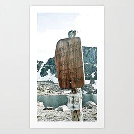 Absaroka Beartooth Wilderness Art Print