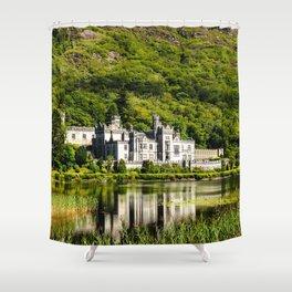 Kylemore Abbey Shower Curtain