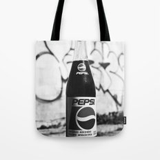 Urban alley Pepsi Tote Bag