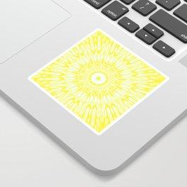 The Sun : Kaleidoscope Mandala Sticker