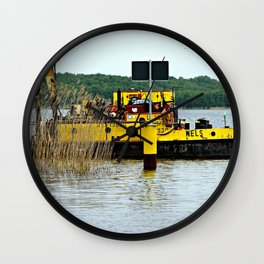 Shipwreck Cove Wall Clock