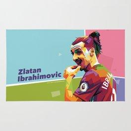 Zlatan Ibrahimovic alt-color WPAP Rug