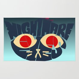 Mae - Nightmare eyes Rug