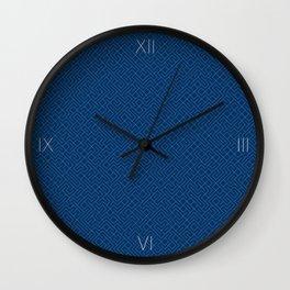 10 Print: Thin Blue Wall Clock
