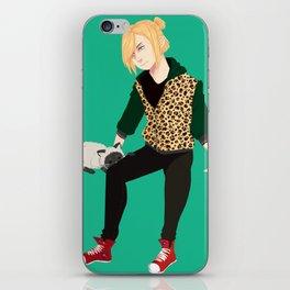 Yurio and Kitty iPhone Skin
