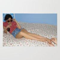 lolita Area & Throw Rugs featuring Lolita by lauraruiz