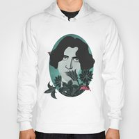 oscar wilde Hoodies featuring Oscar Wilde by Phantasmagoria