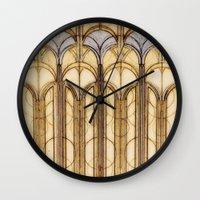 palms Wall Clocks featuring Palms by Steve W Schwartz Art