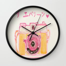 The Evelyn  Wall Clock
