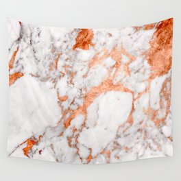 Copper Marble 2 Wall Tapestry