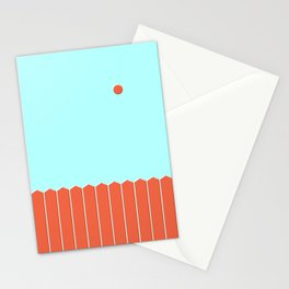Six and Out Stationery Cards
