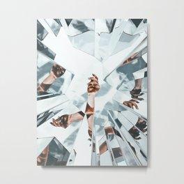 MiЯRorS Metal Print