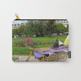 Tuileries Garden Boat Rental Carry-All Pouch