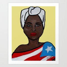 AfroBoricua Art Print