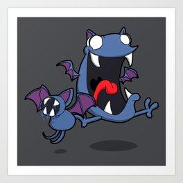 Pokémon - Number 41 & 42 Art Print