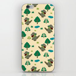 Moccomerian pattern iPhone Skin