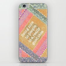Coral Melody iPhone & iPod Skin