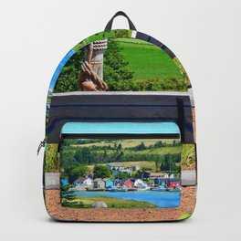 Peaceful Harbour Backpack