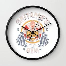 saitama Gym Wall Clock