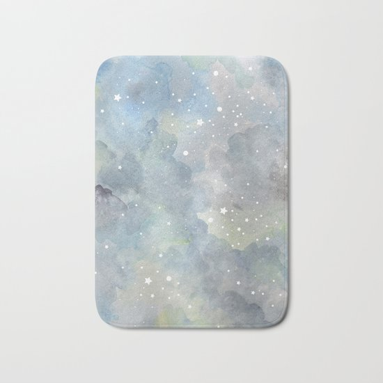 Milky Galaxy Bath Mat