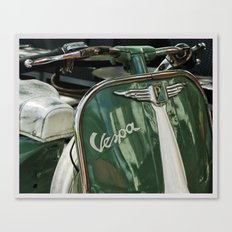 Color Theory, Green Canvas Print
