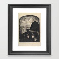Edvard Munch,  Attraction I, 1896 Framed Art Print