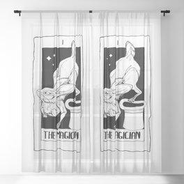 The Magician Sheer Curtain