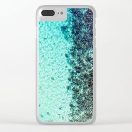 Coral Clear iPhone Case