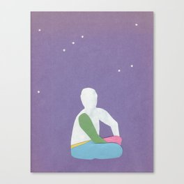 Its in the stars Canvas Print