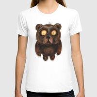 teddy bear T-shirts featuring Teddy Bear by Riccardo Pertici
