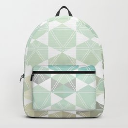 Geometric Sand & Sea Backpack