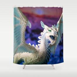 Ice Dragon 3 Shower Curtain