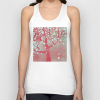 blossom Tank Tops featuring Blossom by Nic Squirrell