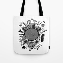 Drums & Percussion Tote Bag