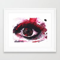 chaos Framed Art Prints featuring chaos by echoes