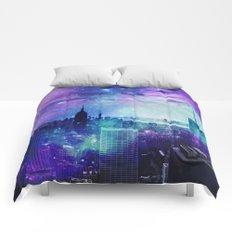 New York Night Comforters