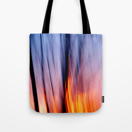 Out of the Blue into the Fire #I Tote Bag