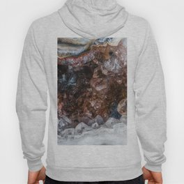Tiny geode crystal cave Hoody