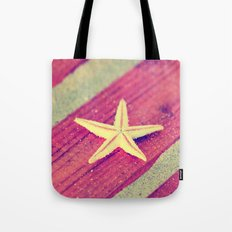 Stars and Stripes on the beach Tote Bag