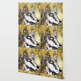 Gray Wolf Art Wallpaper