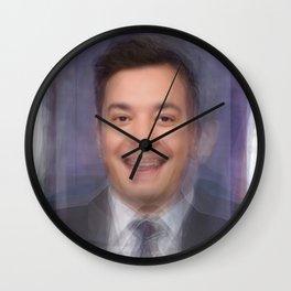 Jimmy Fallon Portrait Overlay Wall Clock