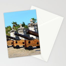 Cannons at Morro Castle Stationery Cards
