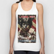I Stand With Standing Rock Unisex Tank Top