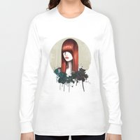 redhead Long Sleeve T-shirts featuring The Redhead by Nettsch