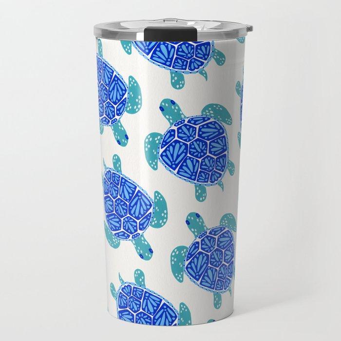 Sea Turtle – Blue Palette Travel Mug