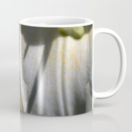 Tiny spider on lily flower Coffee Mug