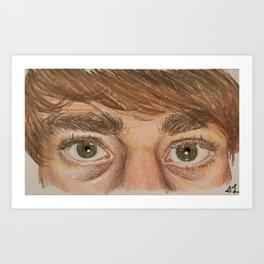 Artist's Eyes Art Print